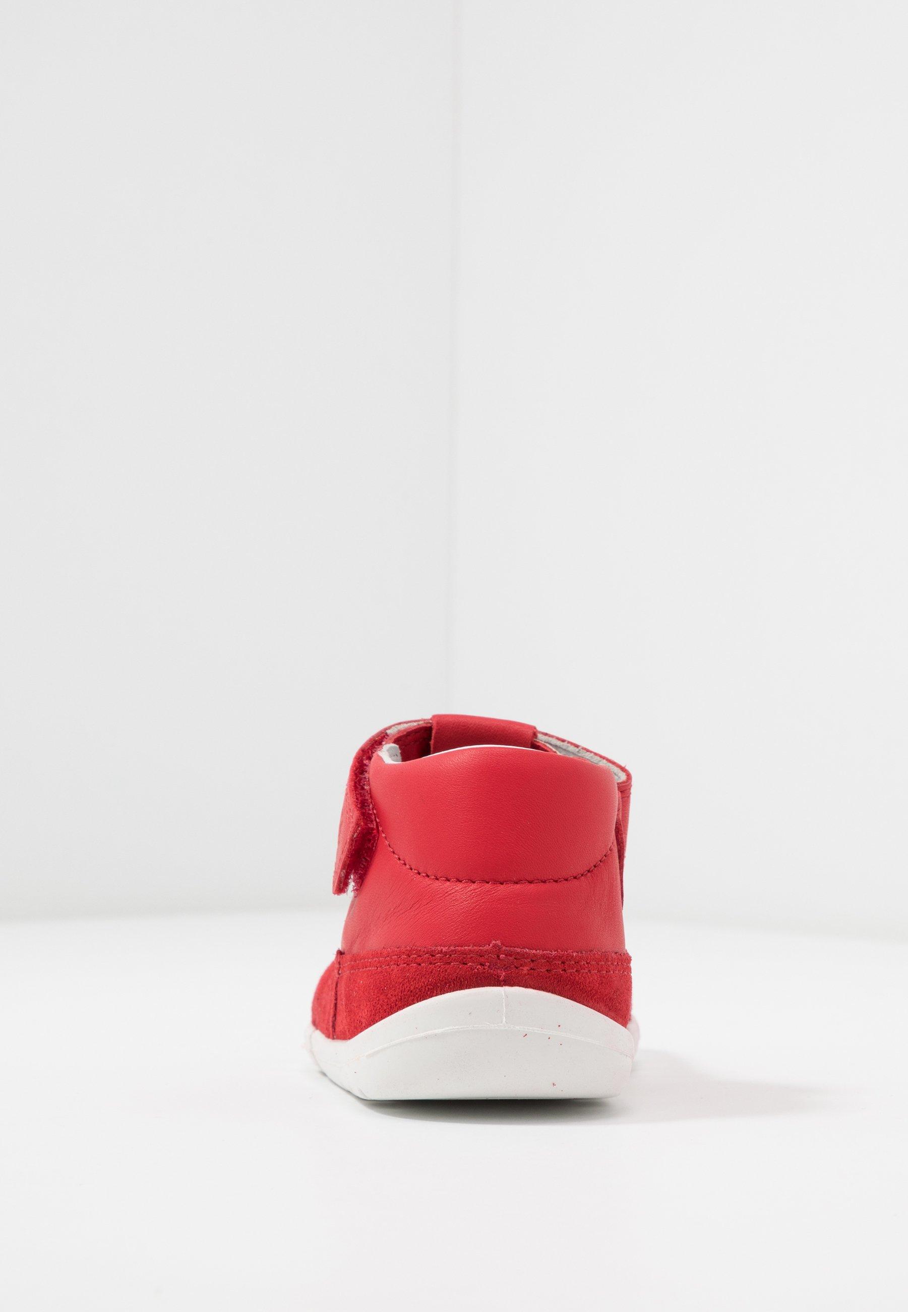 Superfit FLEXY - Lær-at-gå-sko - red