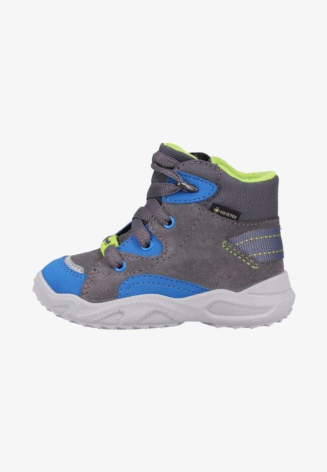 Sneakers hoog - grey/blue