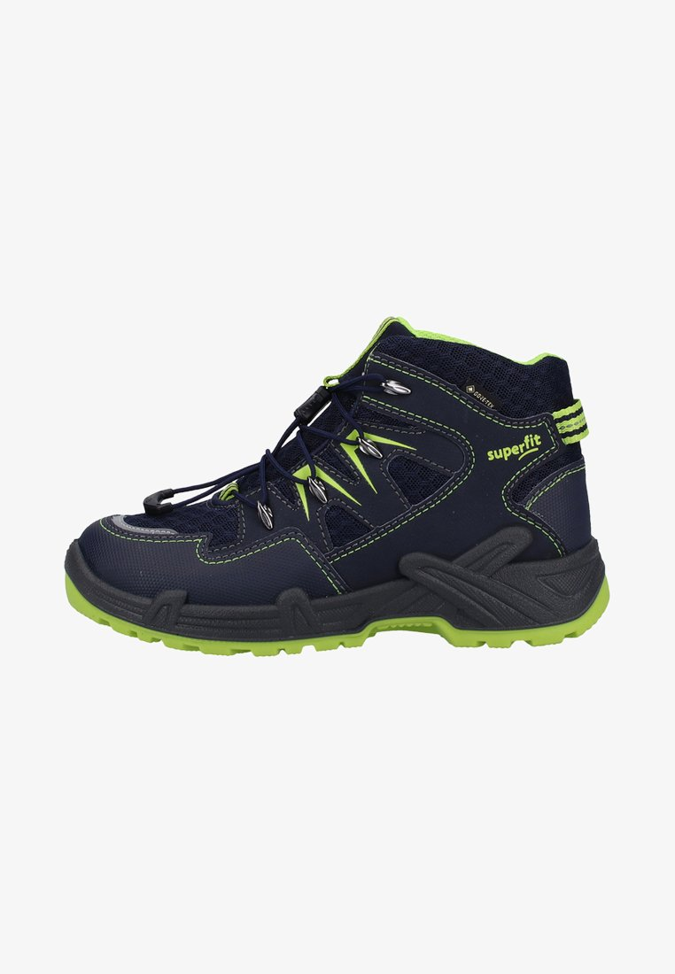 Superfit - Lace-up ankle boots - blue / green
