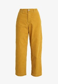 Lee - WIDE LEG - Trousers - harvest gold - 4