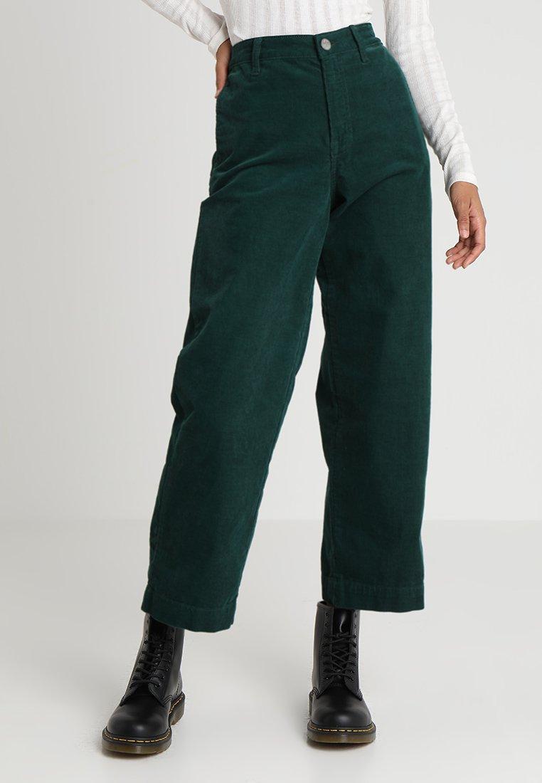 Lee - WIDE LEG - Stoffhose - botanical