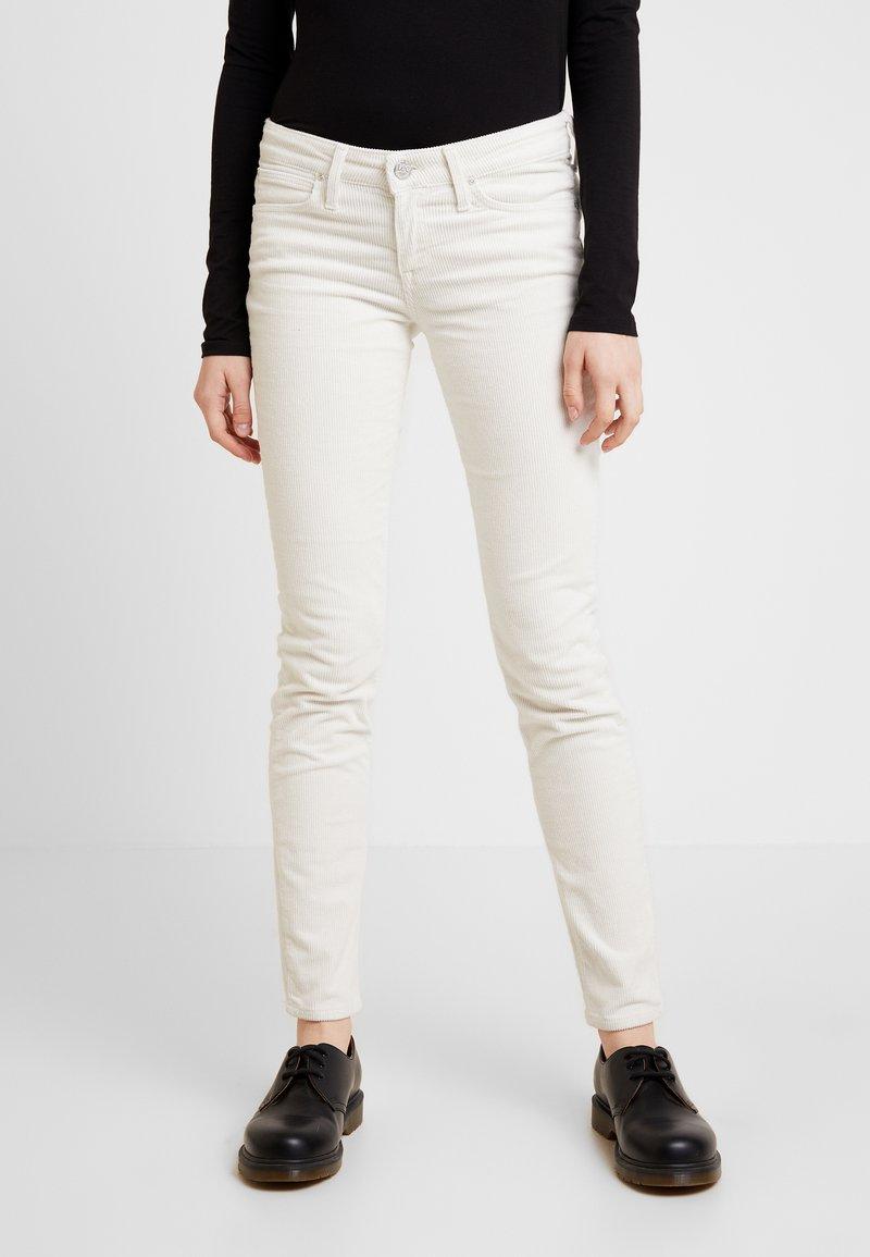 Lee - SCARLETT - Trousers - off white