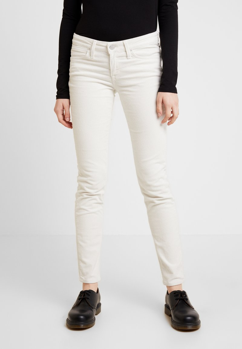 Lee - SCARLETT - Trousers - off white