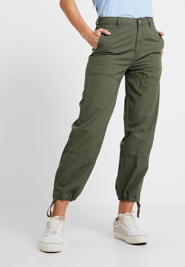 MILITARY PANT - Spodnie materiałowe - khaki