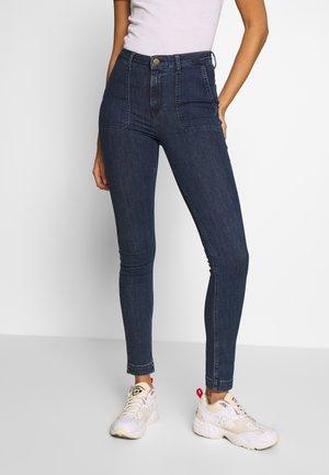 SCARLETT HIGH - Jeans Skinny - mid jelt