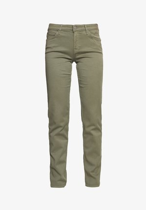 MARION STRAIGHT - Trousers - green