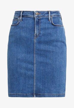 PENCIL SKIRT - Denim skirt - clean play