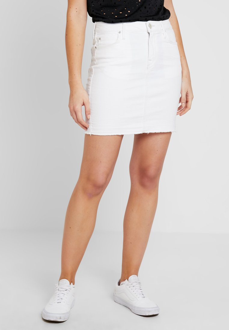 Lee - MID SKIRT - Falda de tubo - raw off white