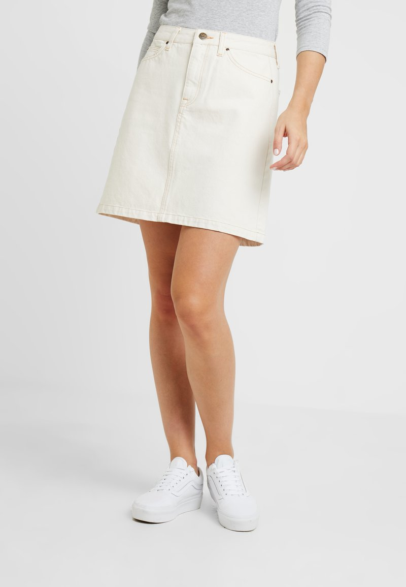 Lee - SEASONAL SKIRT - A-Linien-Rock - off white