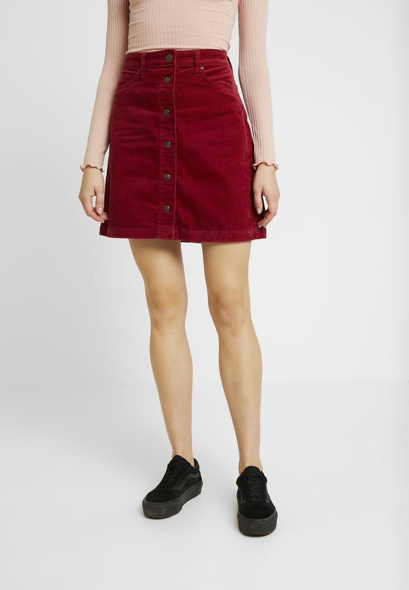Lee - A LINE SKIRT - A-line skirt - biking red