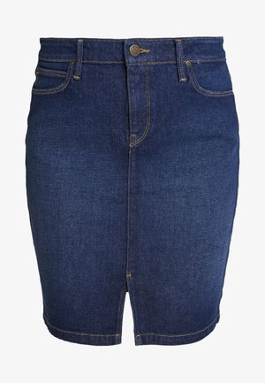 SKIRT - Spódnica jeansowa - dark garner