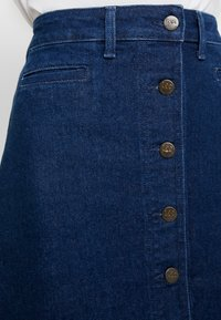 Lee - BUTTON THROUGH SKIRT - A-line skirt - dark wilma - 3