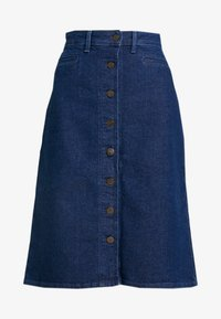 Lee - BUTTON THROUGH SKIRT - A-line skirt - dark wilma - 5