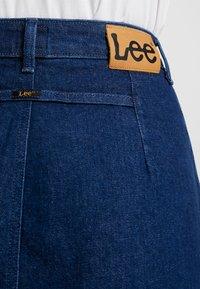 Lee - BUTTON THROUGH SKIRT - A-line skirt - dark wilma - 6