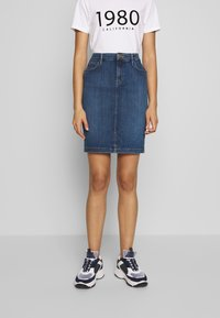 Lee - Denim skirt - used foam - 0
