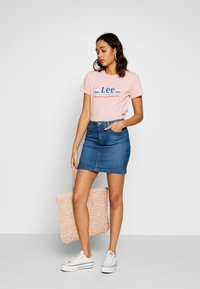 Lee - MID SKIRT - Gonna di jeans - mid bellevue - 1