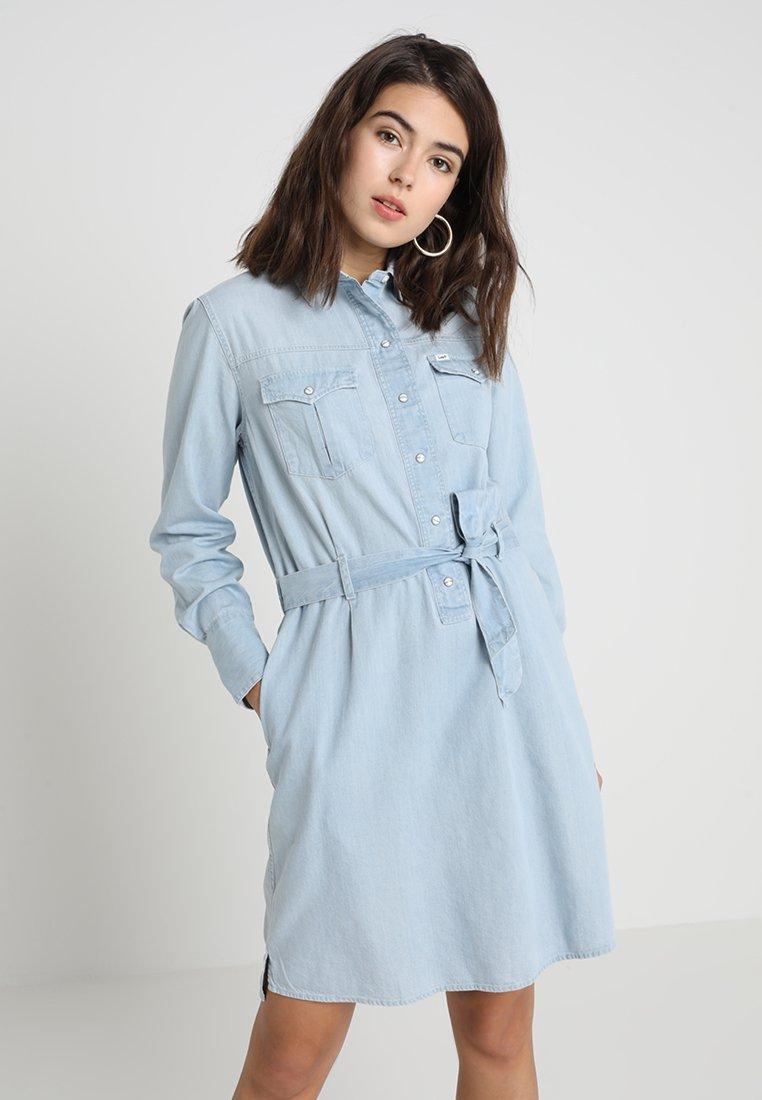 Lee - DRESS - Jeanskleid - faded blue