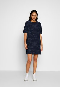 Lee - EASY DRESS - Day dress - washed blue - 1