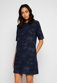 Lee - EASY DRESS - Day dress - washed blue - 0