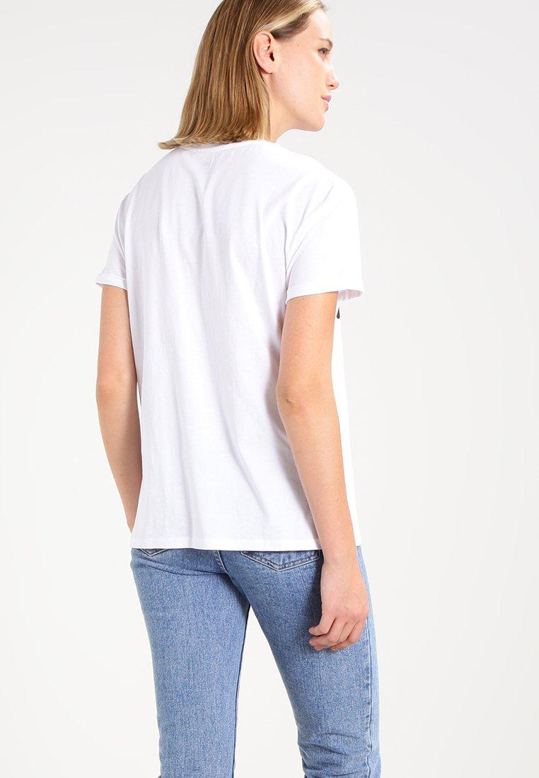 Lee LOGO TEE - T-shirts med print - white