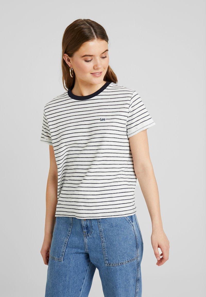 Lee - TEE - Print T-shirt - midnight navy