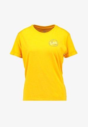 GLOBAL TEE - T-shirt print - lemon zest