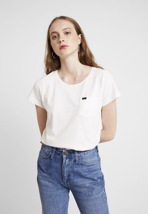 ORGANIC TEE SUSTAINABLE - T-shirt - bas - cloud dancer