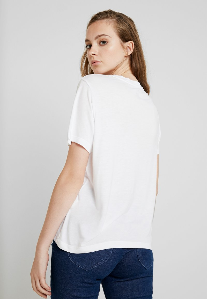 Lee RELAXED FIT TEE - T-shirts med print - bright white