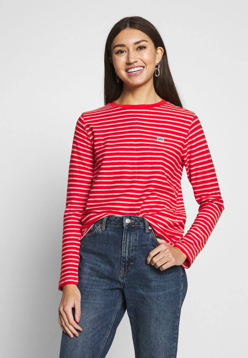 Lee - LONG SLEEVE - Topper langermet - red