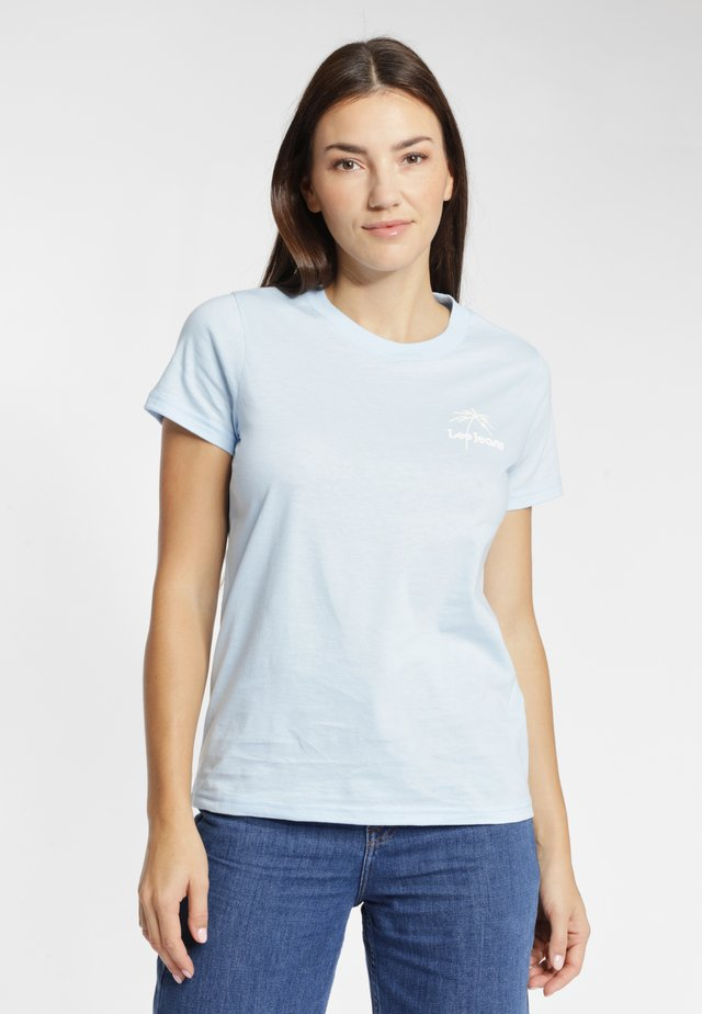 Basic T-shirt - sky blue