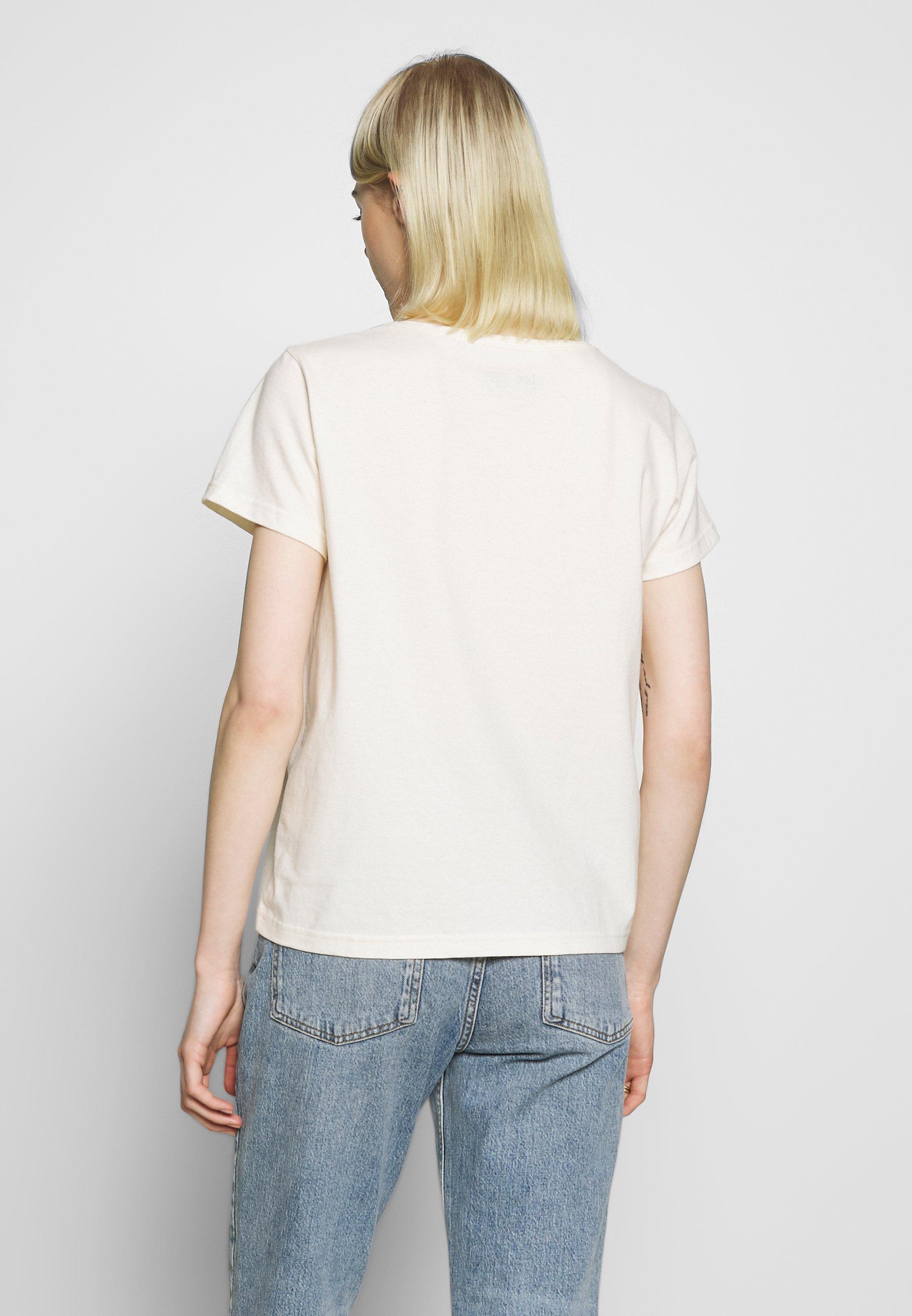 Lee SUSTAINABLE - T-shirt basic - ecru mele