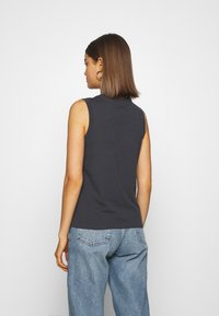Lee - MUSCLE TEE - Top - washed black - 2
