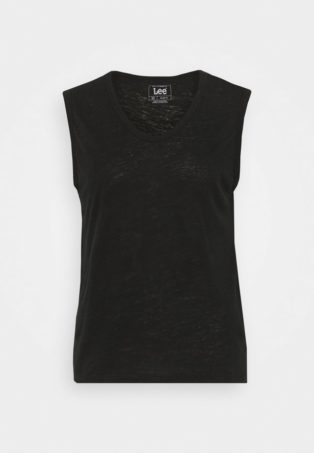 NECK TANK - Top - black