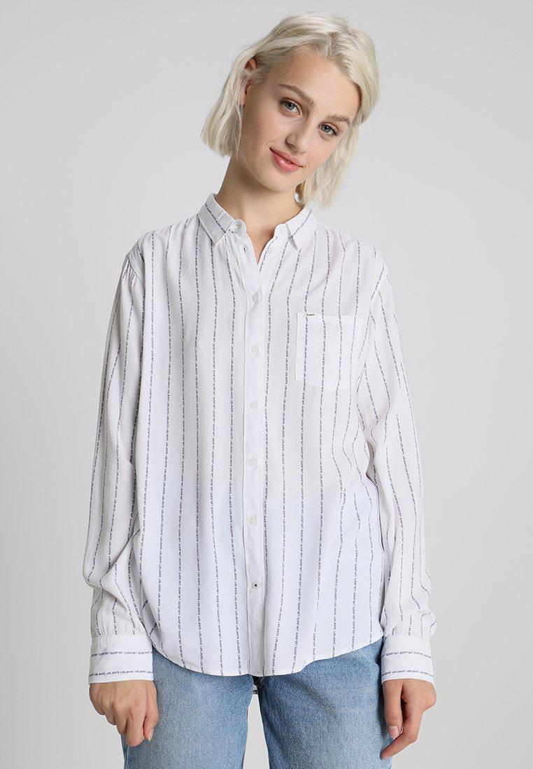Lee - ONE POCKET - Skjortebluser - bright white