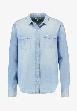 REGULAR WESTERN - Skjorte - heather blue