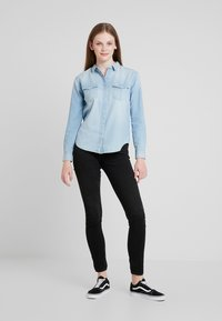 Lee - REGULAR WESTERN - Skjortebluser - heather blue - 1