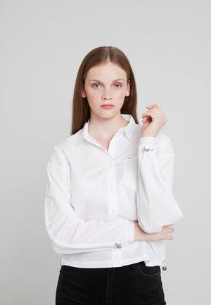 DRAWSTRING PLAIN - Overhemdblouse - white