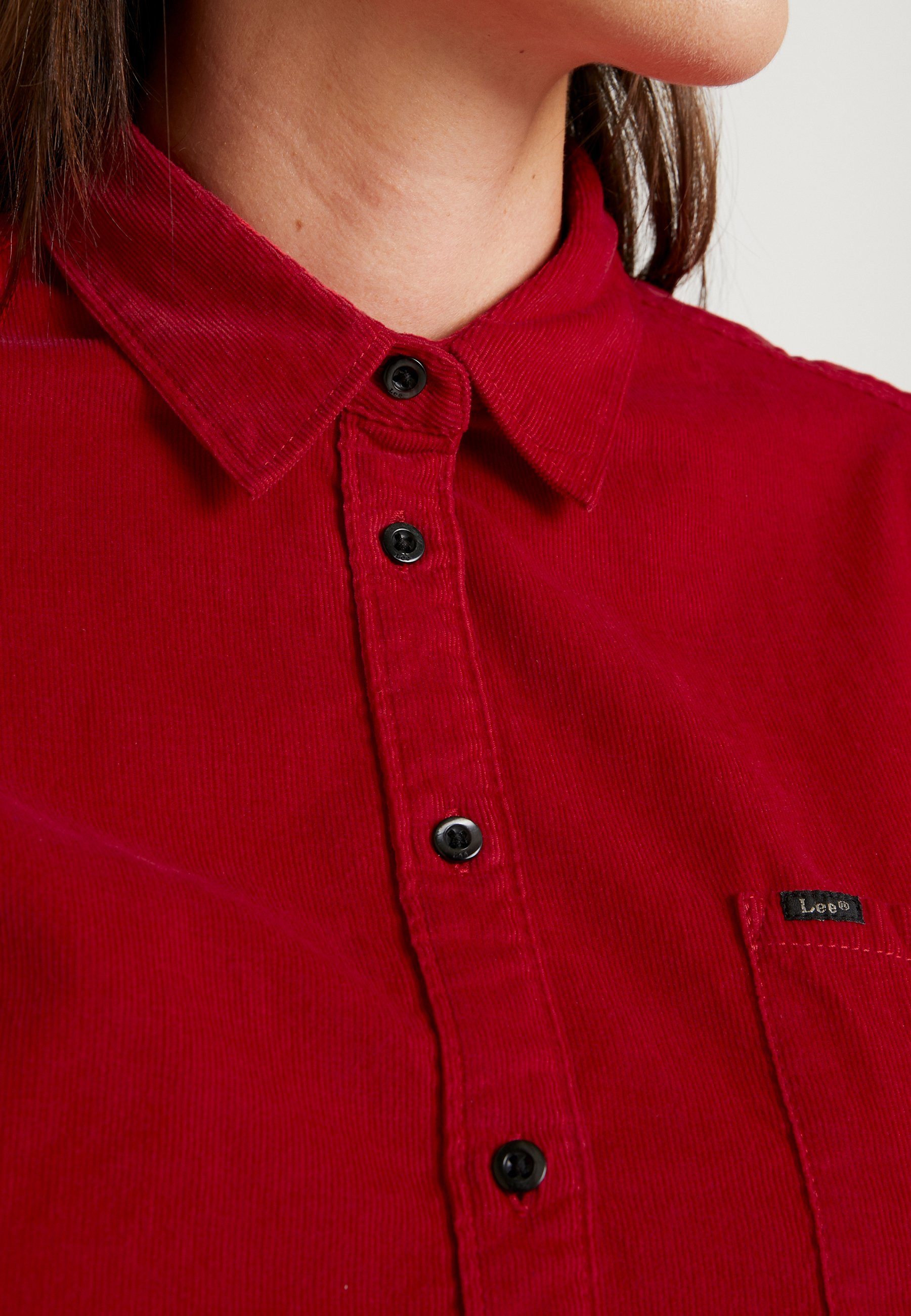 Lee ONE POCKET - Koszula - warp red