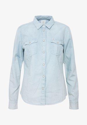 REGULAR WESTERN SHIRT - Skjorte - summer blue