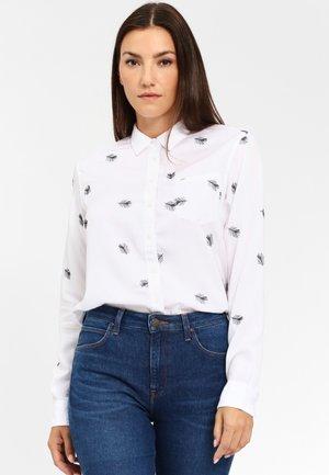 ONE POCKET - Overhemdblouse - white