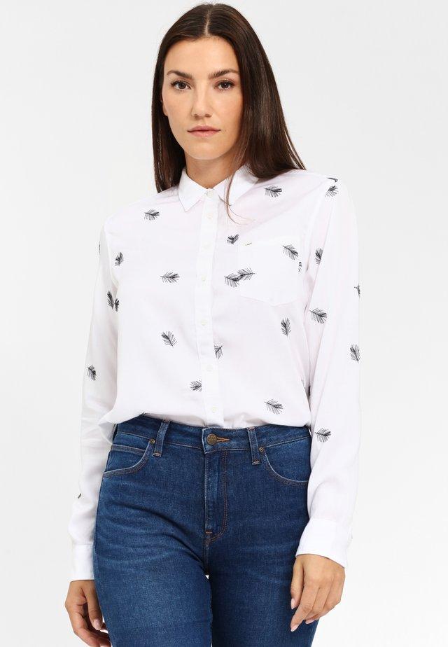 ONE POCKET - Koszula - white