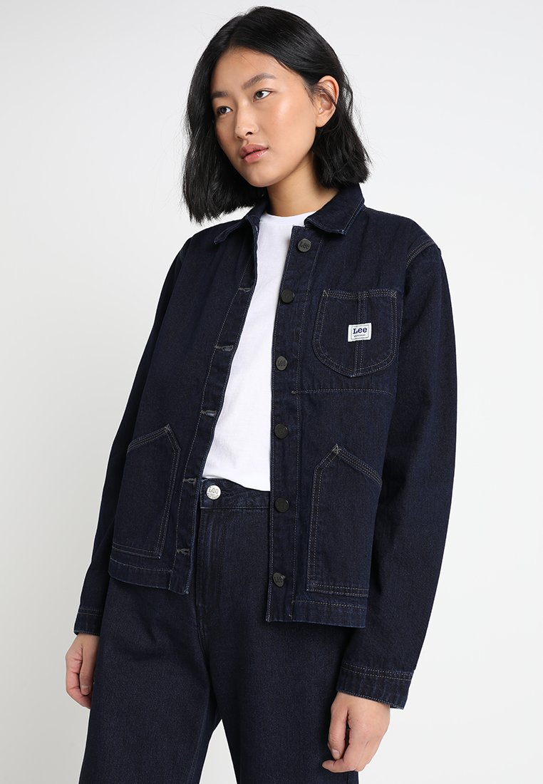Lee - CHORE JACKET - Jeansjacke - power blue