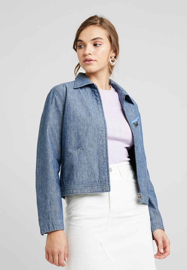 JACKET - Denim jacket - chambray