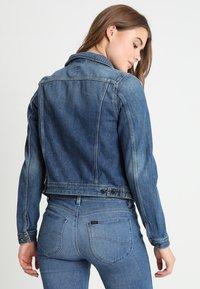 Lee - RIDER - Giacca di jeans - dark blue - 1