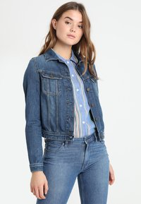 Lee - RIDER - Giacca di jeans - dark blue - 0