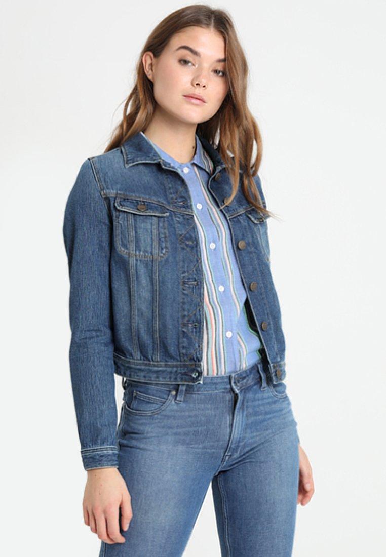 Lee - RIDER - Giacca di jeans - dark blue