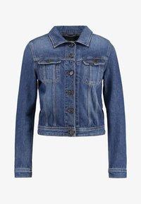Lee - RIDER - Giacca di jeans - dark blue - 2