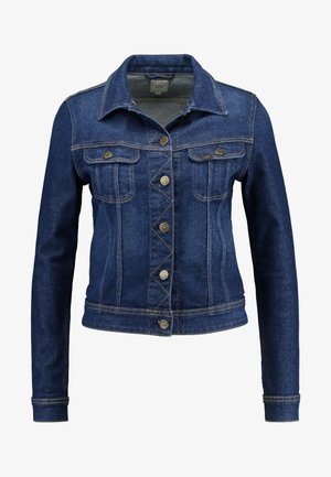 SLIM RIDER - Giacca di jeans - dark garner