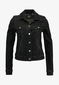 Lee - SLIM RIDER - Denim jacket - black orrick - 3