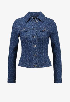 SLIM RIDER - Veste en jean - blue denim